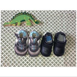 Other - 2 pair of boys Newborn shoes -  Booties